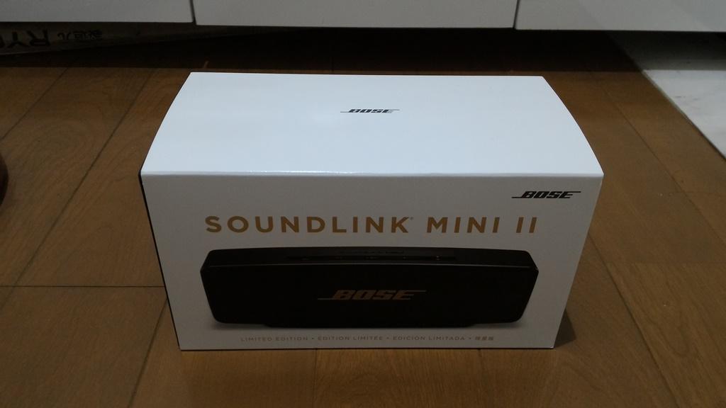 BOSE SoundLink Mini II 限定モデル 箱